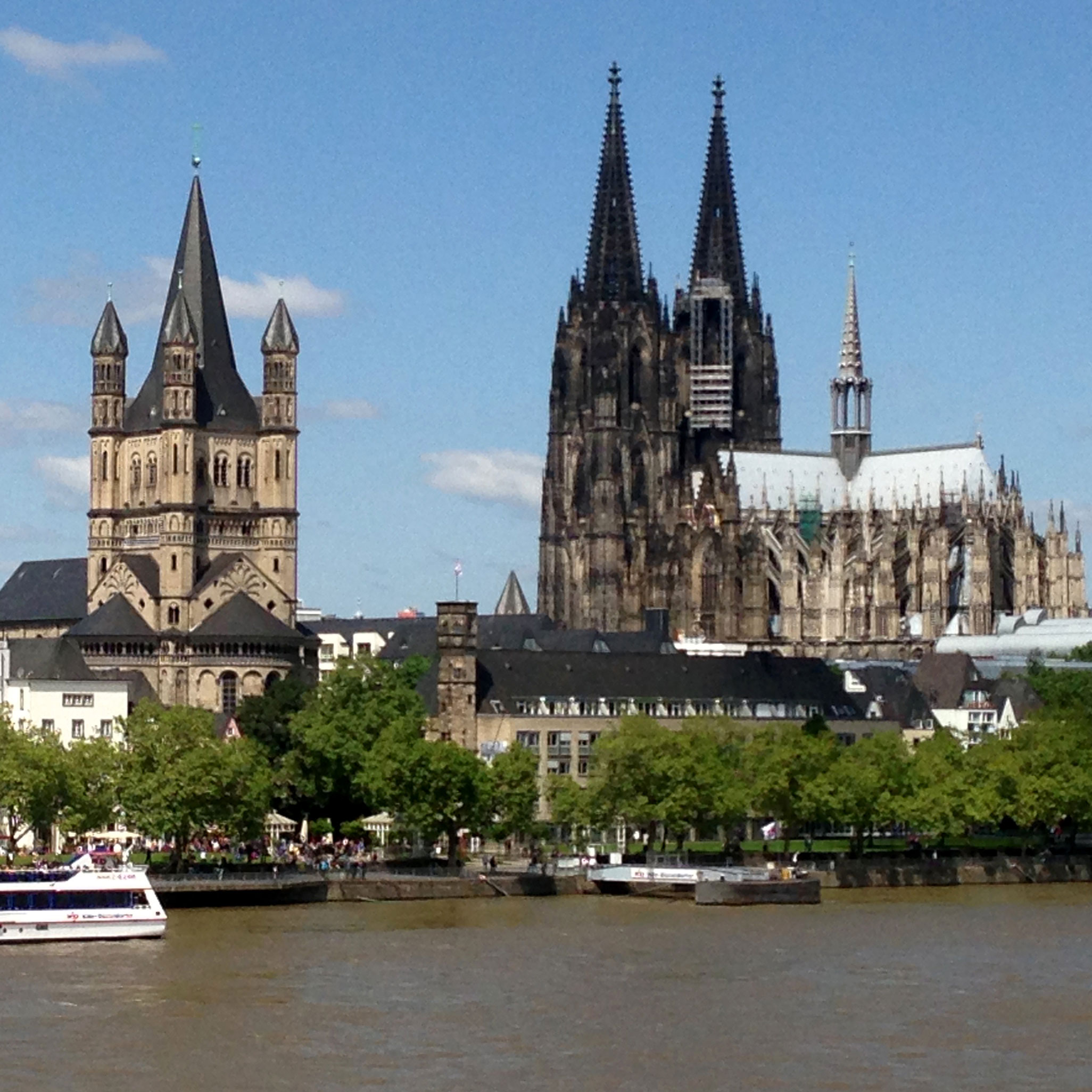 Basilique romane Grand Saint Martin Cologne